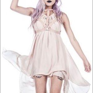 UNIF harness halter dress